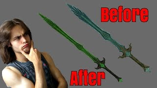 Are the better shaped weapons in Skyrim realistic? (LeanWolf's Better-Shaped Weapons mod rewiew)