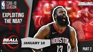 How James Harden Is Exploiting The NBA Part 2