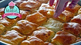 Elde açamam deme, bu tarifle yaparsın:) | Çok Kolay Çıtır Baklava Börek Tarifi | Ayşenur Altan