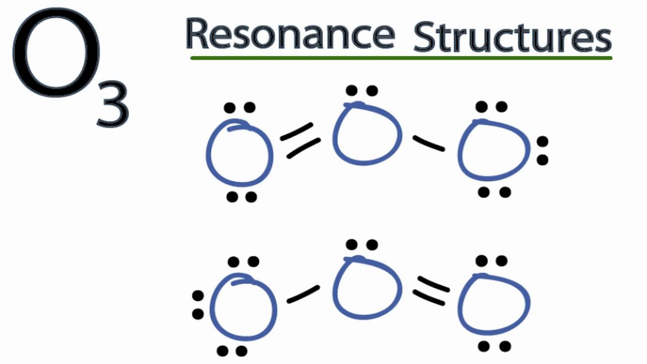 lewis dot diagram for as yamaha warrior wiring o3 resonance structures (ozone) - youtube