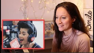Vocal Coach REACTS/ANALYSES KZ Tandingan- ″Rolling in the Deep″ (Adele) Wish 107.5