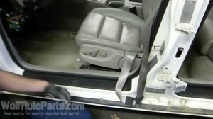 How to Remove the Front Seat  B6B7 Audi A4 20022008