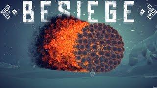 Besiege Best Creations - GREAT BALLS OF FIRE! - Besiege Race Track, Fast Cars & Craze Planes