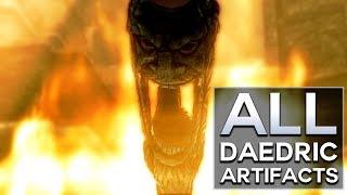 Skyrim - All Daedric Artifacts