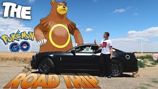 The Pokemon Go Road Trip! (WILD URSARING FOUND LOL)