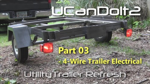 small resolution of led trailer tail lights on utility trailer tail light wiring wiring diagram blog