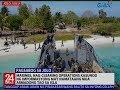 Marines, nag-clearing ops kasunod ng impormasyong may namataang armadong tao sa isla