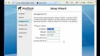 How to Use the Ruckus Wireless Zone Director Setup Wizard
