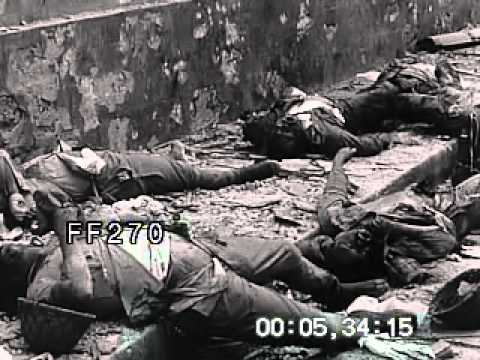 Stock Footage  World War II Manila CleanUp  YouTube