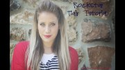 rock star hairstyle tutorial