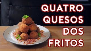 Binging with Babish: Quatro Quesos Dos Fritos from Psych
