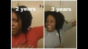 natural hair growth length check