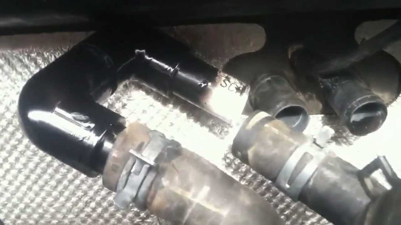chrysler town and country parts diagram ezgo golf cart wiring gas ez go sharkawifarm bypass heater core - youtube