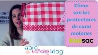 El protector de cuna más molón para tu bebé 👶 de Kiwisac | María Pañales y Más