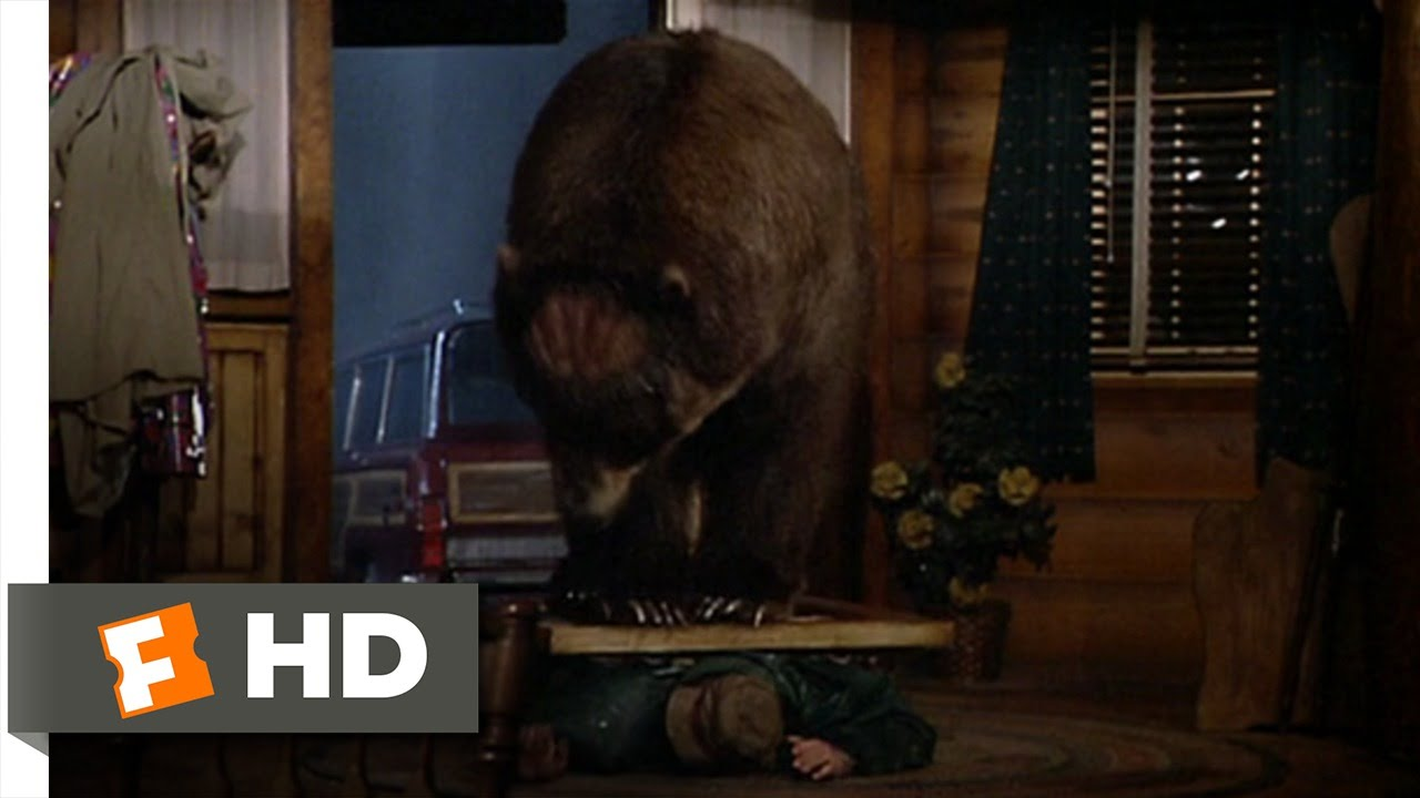 Big Bear Chase Me  The Great Outdoors 1010 Movie CLIP