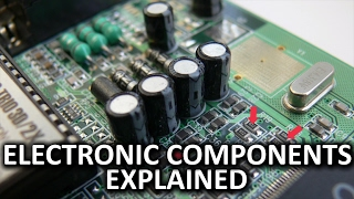 Capacitors, Resistors, and Electronic Components