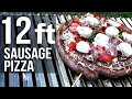 Real Grilled Sausage Pizza