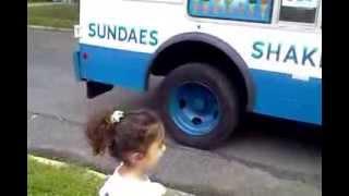 Mister softee ice cream truck, 2 years old wish