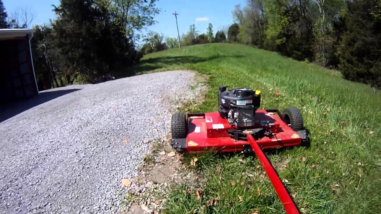 Cub Cadet Zero Turn Mower Wiring Diagram Swisher 44 Quot Mower Good Amp Bad Youtube