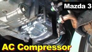2009 Mazda 3 AC Compressor Replacement  YouTube