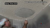 How to Texture Drywall - Popcorn Ceiling - Drywall Repair ...