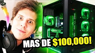 El nuevo PC de El Rubius  Downlossless