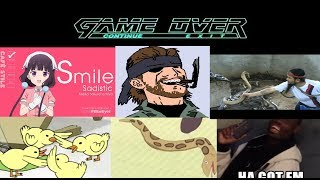 Metal Gear GAME OVER Memes Comp.
