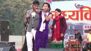 पशुपति शर्मा ,प्रजापति पराजुली र उमा गिरी को दोहोरी घम्साघम्सी || LIVE Dohori Pasuparti with uma