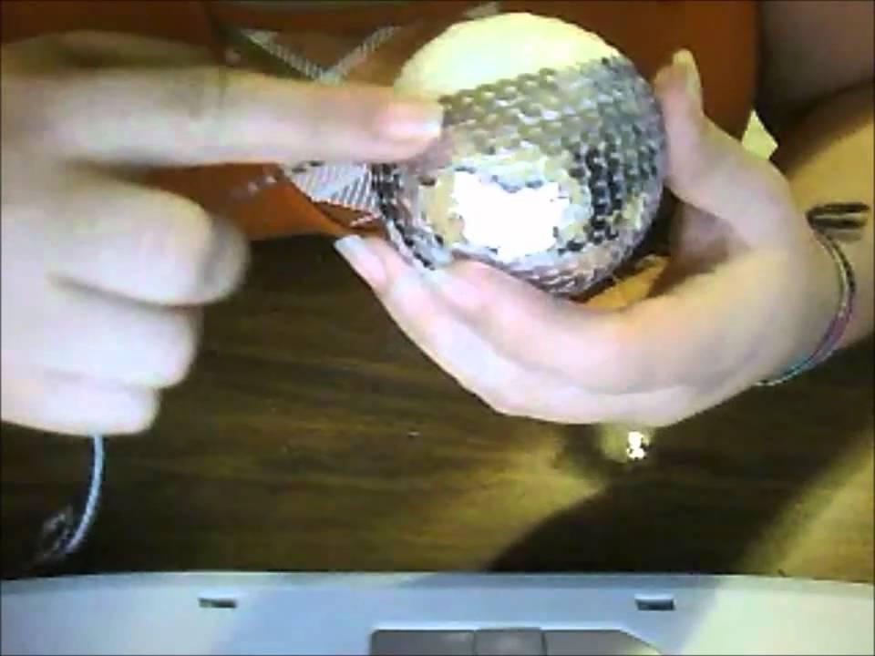 idea de esferas para el arbol de navidad  YouTube