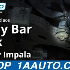 2005 Chevy Silverado Parts Diagram 2008 Kia Spectra Wiring How To Install Replace Stabilizer Sway Bar Link 2006-12 Impala - Youtube