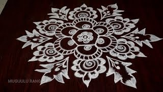 how to make kolam without dots