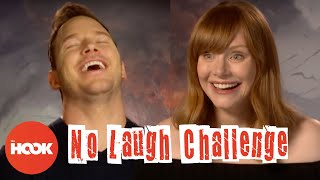 CHRIS PRATT & BRYCE DALLAS HOWARD Make Each Other Laugh With Dumb Jokes | The Hook