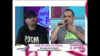 Interviu Cheloo la Conferinta de Presa - Antena 2 (14.07.2012)