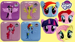 NEW! Complete Set MY LITTLE PONY MLP Radz Plushees & 4-in-1 Tin Surprises