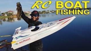 Biggest Fish Caught on RC Boat!!!