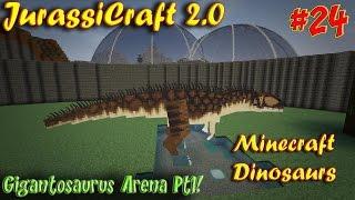 Minecraft Dinosaurs JurassiCraft 2 0 Ep24 Gigantosaurus
