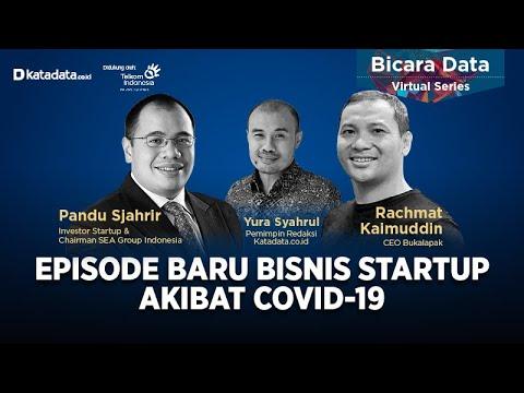 "Bicara Data Virtual Series ""Episode Baru Bisnis Startup Akibat Covid-19"""