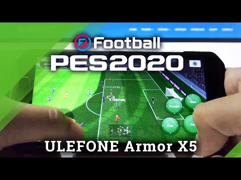 PES Mobile Gameplay on Ulefone Armor x5 – Pro Evolution Soccer Quality Checkup