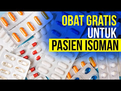 Pemerintah Akhirnya Beri Obat Gratis Untuk Pasien Isoman