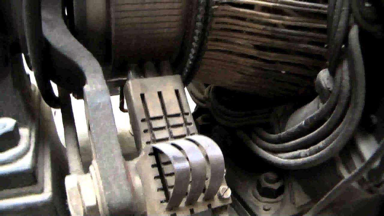 An Generator Wiring Diagram Slip Rings And Brushes Generators Youtube