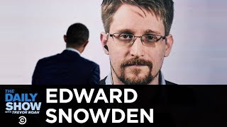 """Edward Snowden - """"Permanent Record"""" & Life as an Exiled NSA Whistleblower 