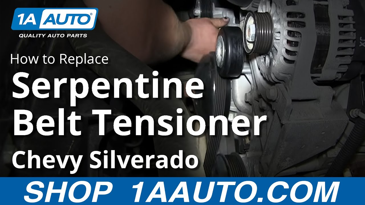 2007 chevy avalanche parts diagram level 1 data flow how to install replace serpentine belt tensioner 2007-13 silverado gmc sierra - youtube