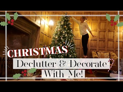 CHRISTMAS DECLUTTER & DECORATE WITH ME // Fashion Mumblr Vlogs