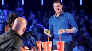 BEST Magic Show in the world - Genius Rubik's Cube Magician America's Got Talent