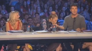 Demi Lovato and Simon Cowell - Funniest moments on The X factor - Season 2 (2/6) LEGENDADO