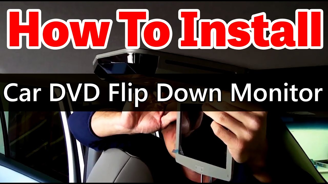 2003 Caravan Wiring Diagram How To Install An Overhead Car Dvd Player With Sunroof