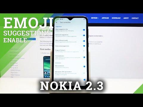 How to Enable Emoji Suggestions in NOKIA 2.3 – Find Keyboard Settings