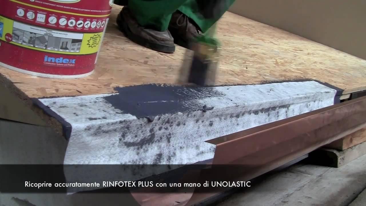 UNOLASTIC  INDEX SpA  Come impermeabilizzare un tetto e