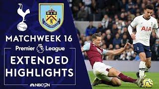 Tottenham v. Burnley | PREMIER LEAGUE HIGHLIGHTS | 12/07/19 | NBC Sports