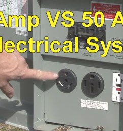 30 amp to 50 amp adapter wiring diagram [ 1280 x 720 Pixel ]